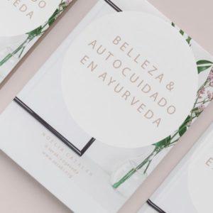ebook mockup ebook belleza y autocuidado ayurveda